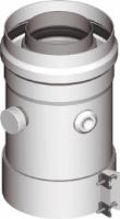 Вертикальный адаптер для коаксиальных дымоходов