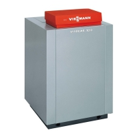 Газовый конвекционный одноконтурный котел Vitogas 100-F