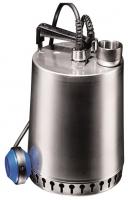 """Насос дренажный Grundfos, тип Unilift AP 12.40.06.А1, мощность 0,9/0,6 кВт, напряжение 1х230 В, 50 Гц, сила тока 4,4 А, напорный патрубок Rp1 1/2"""", частота вращения 2900 об/мин, длина кабеля 10 м, из нержавеющей стали, тип штекера Schuko, с поплавком"""